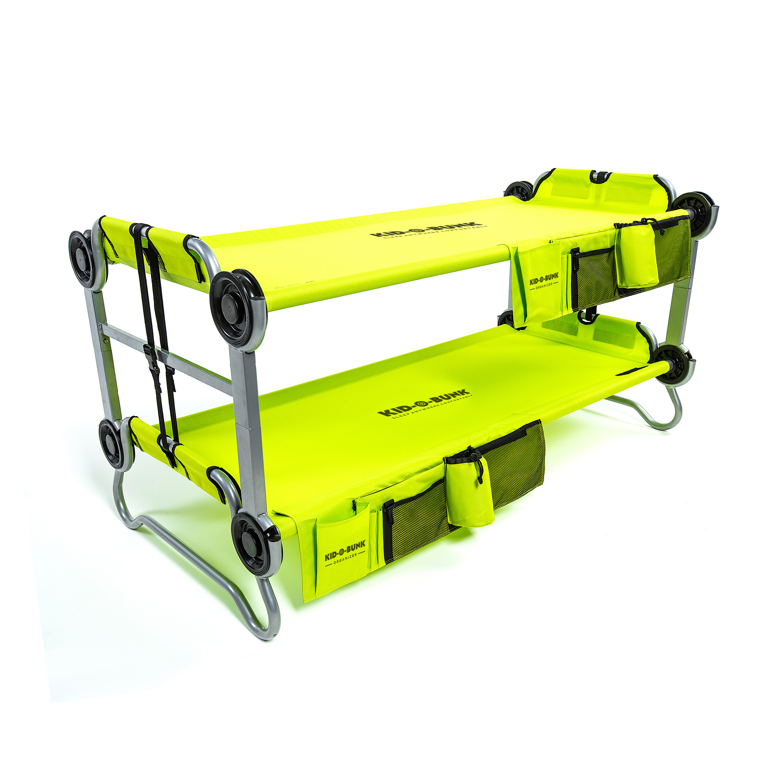 Kid-O-Bunk-with Organizers-Lime (14)