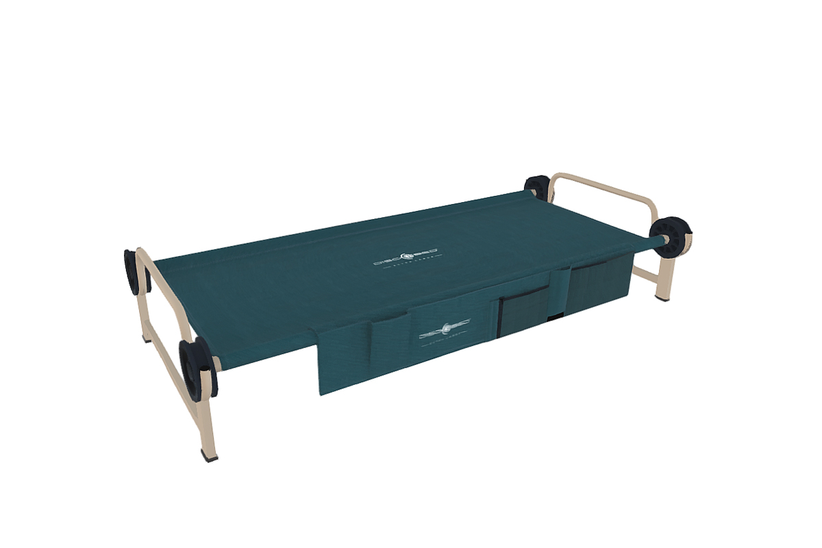 straight frame single cot