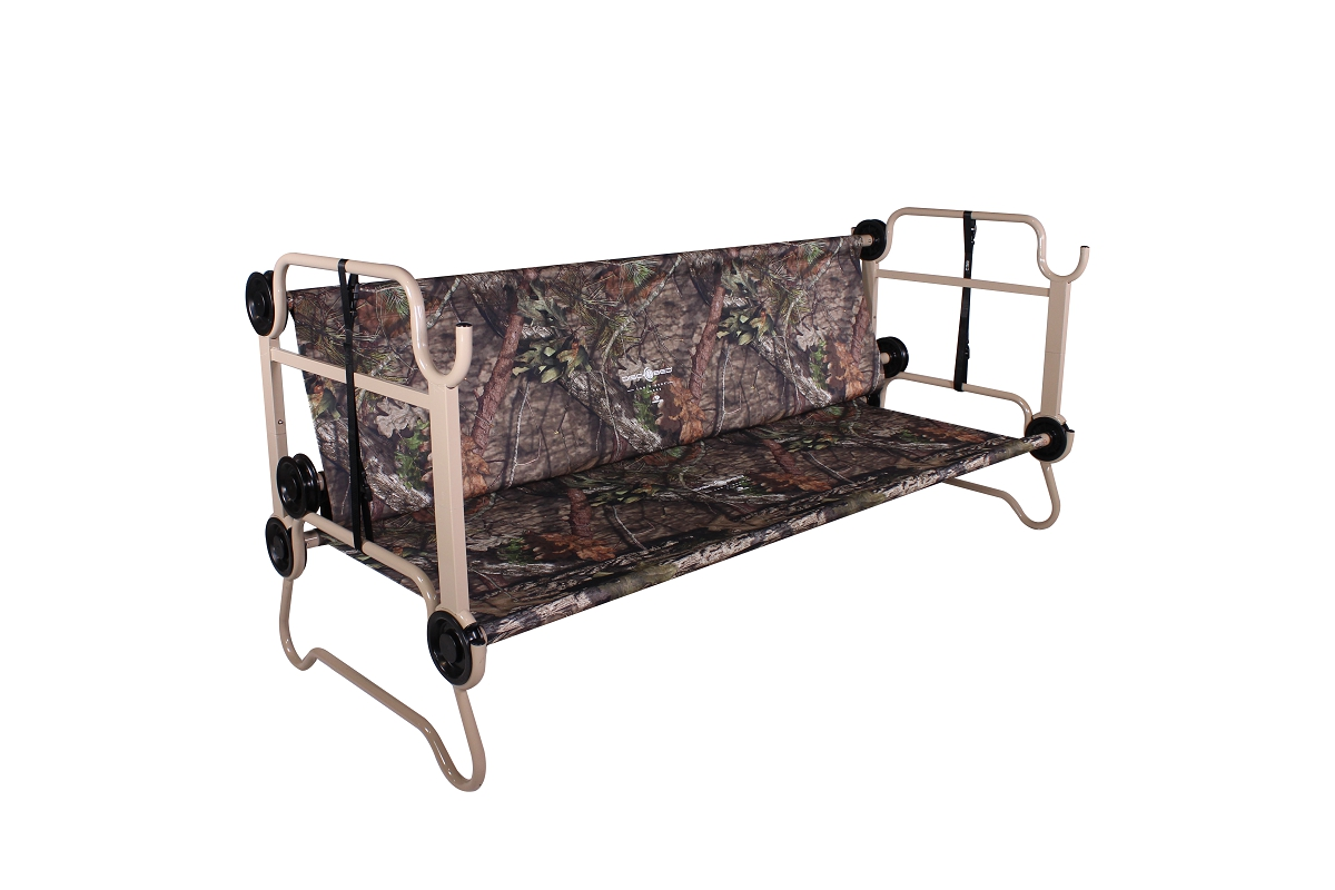 Cam O Bunk L Mossy Oak 174 With Organizers Disc O Bed
