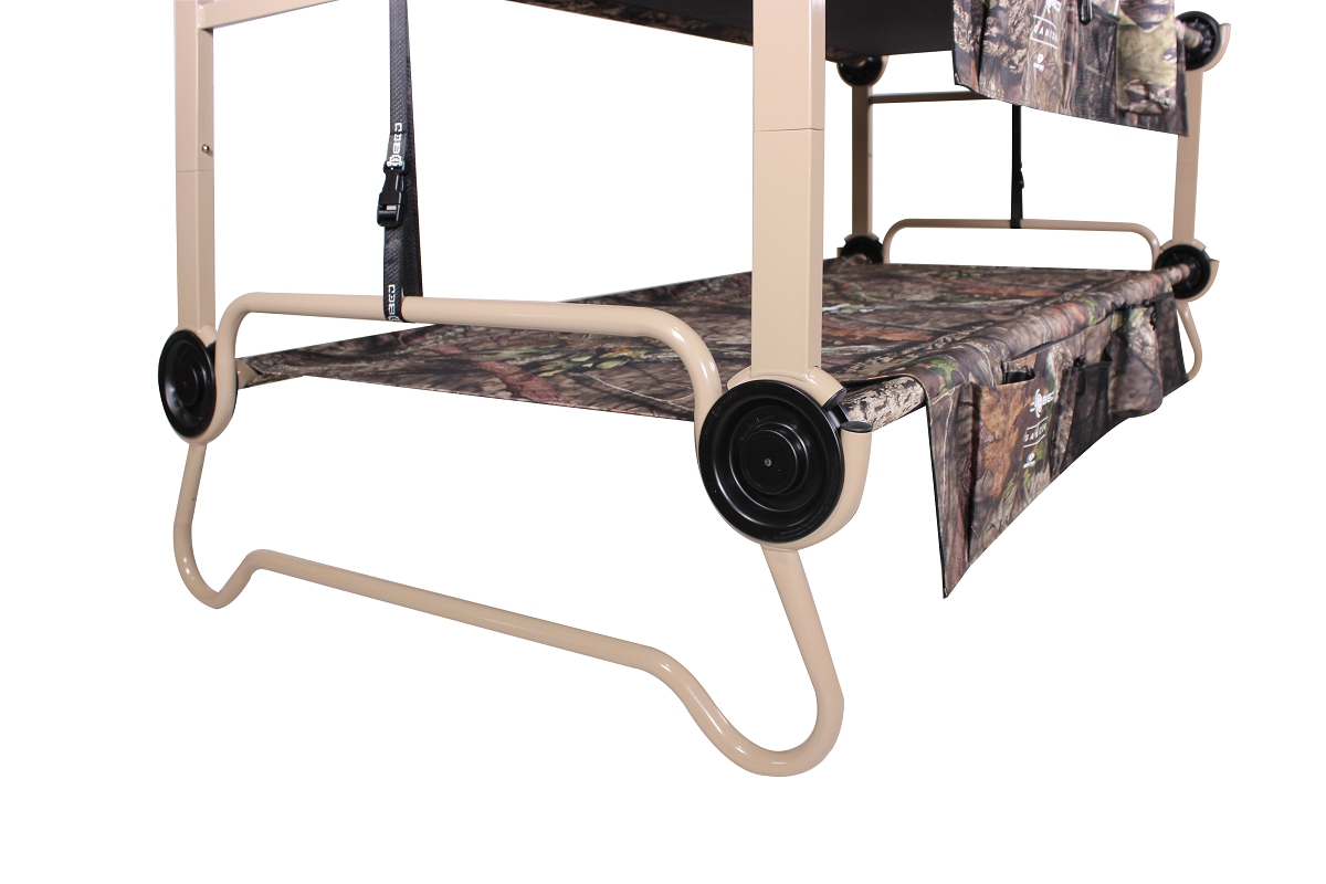 Cam O Bunk Xl Mossy Oak 174 With Organizers Disc O Bed