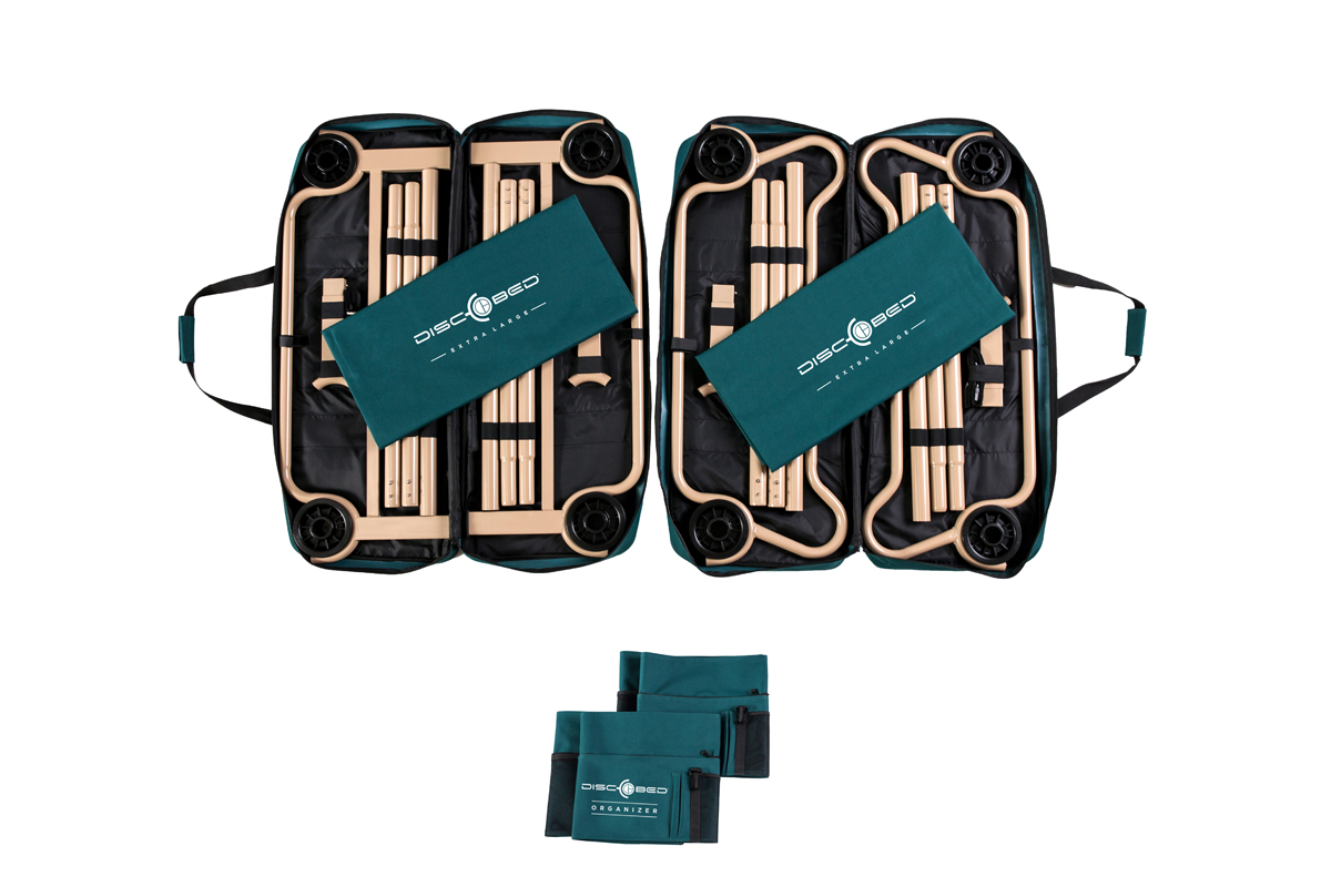 Disc O Bed Xl With Organizers Disc O Bed