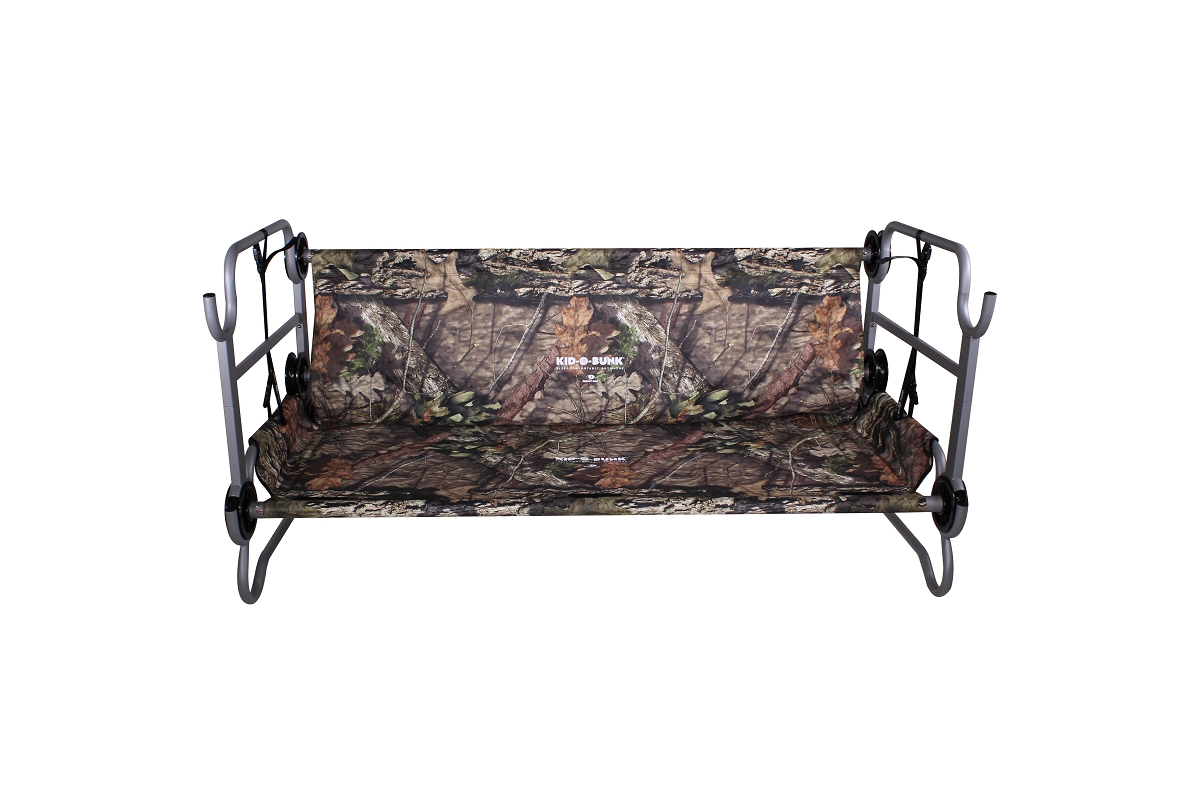 Kid O Bunk Mossy Oak 174 With Organizers Disc O Bed